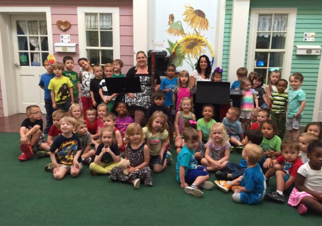 Musical education at the school